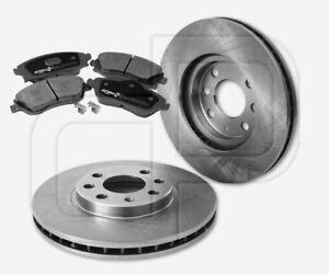 2-Bremsscheiben-und-4-Bremsbelaege-OPEL-Combo-Meriva-A-4Loch-Felge-vorne-260-mm