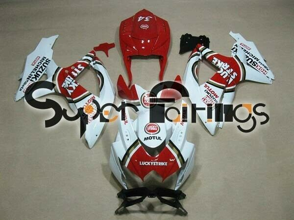 Super Fairings Aftermarket Fairing Kits 08-10 SUZUKI GSX-R 600-750