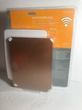 Style Selections Wireless Doorbell Kit 10 Chime White w//Copper or White intercha