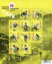 Belgium 2017 MNH Tour de France Winners Eddy Merckx Maes 10v M/S Cycling Stamps