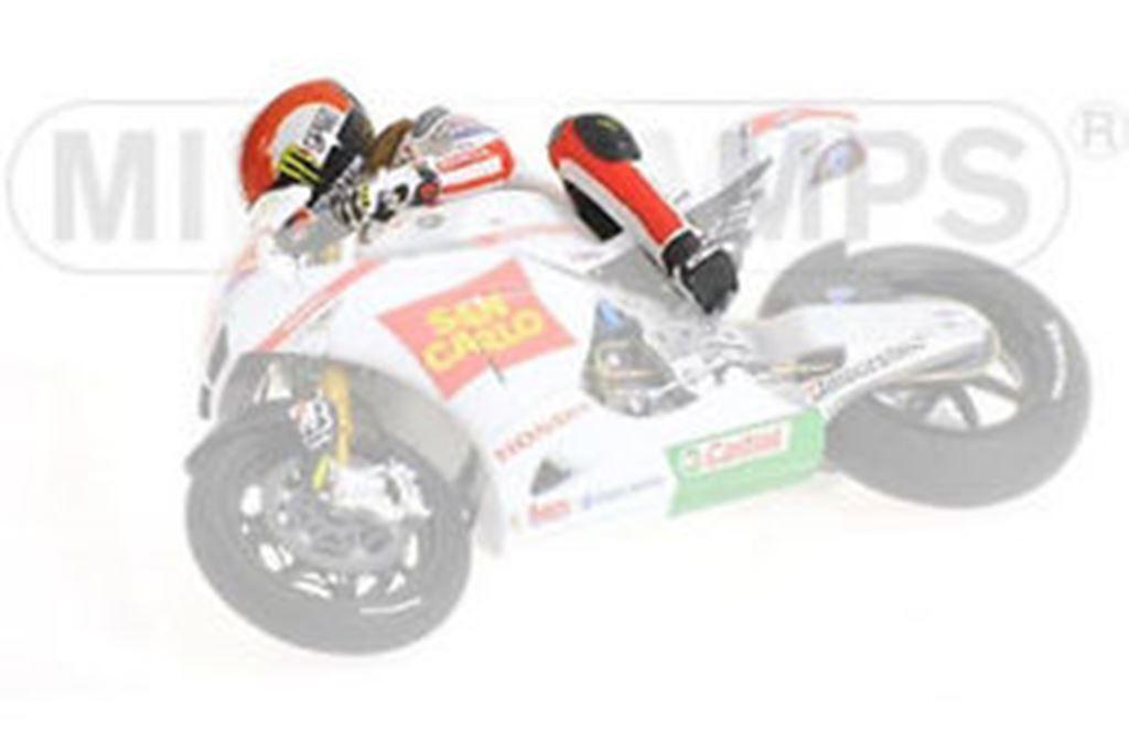 Minichamps 312 110158 figurine Marco Simoncelli MotoGP 2011 qui pendent 1,12 th