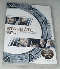 Stargate SG-1 Stagione 9 Nove Nona Completo - DVD Cofanetto - NUOVO E SIGILLATO