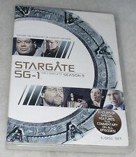 Stargate SG-1 Season 9 Nine Ninth Complete - DVD Box Set - NEW & SEALED