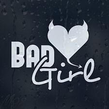 Funny Bad Girl Little Devil Heart Car Decal Vinyl Sticker For Window Bumper