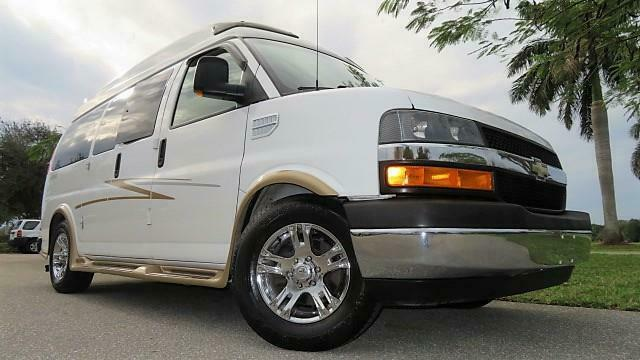 2011 Chevrolet Express YF7 Upfitter Conversion Van