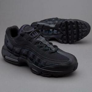 wholesale dealer 43806 5038f Image is loading NIKE-AIR-MAX-95-ESSENTIAL-TRAINERS-UK10-TRIPLE-
