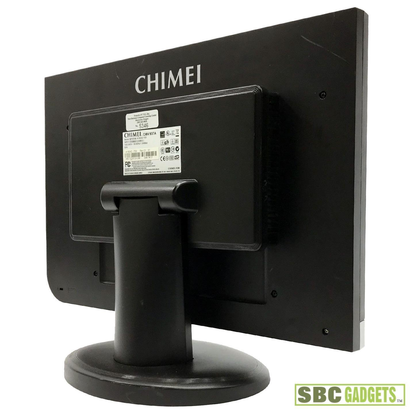 NEW DRIVERS: CHIMEI CMV937A