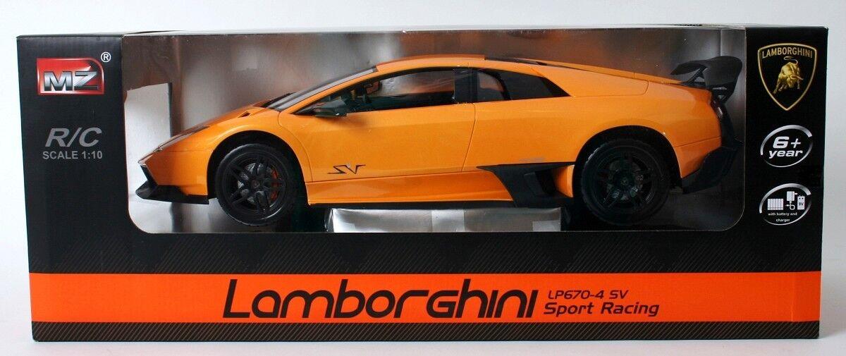 Lamborghini LP 670-4 Sv - Rc Modello 1:10 Comando a Distanza Auto Sportive