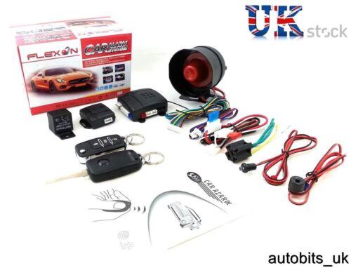 Universal Alarma remota Bloqueo Central Kit 2 mandos a distancia Dijes Llaves