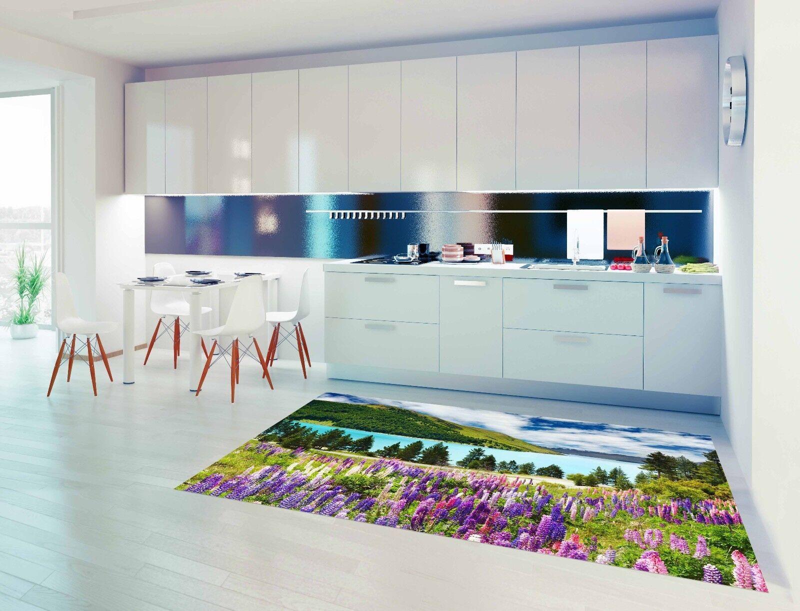 3D Sky Lake Mountain 795 Kitchen Mat Floor Murals Wall Print Wall Deco UK Carly