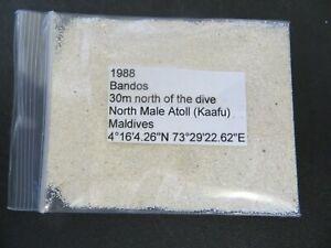 7 MISC USA Black Magnetic Beach Sand Samples