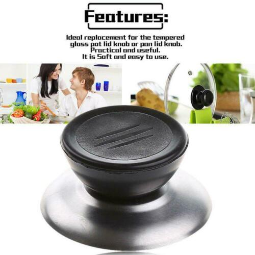 1//5 PCS Replacement Knob Handle Glass Lid Pot Pan Cover Cookware Kitchen Tool
