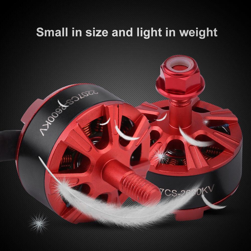 2Pcs   4Pcs 2600KV  2300KV Brushless Motor for FPV Racing Quadcopter RC Drone