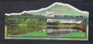 Philippine Stamps 2018 Philippine Lakes Overprinted Thailand World Stamp Exhibit