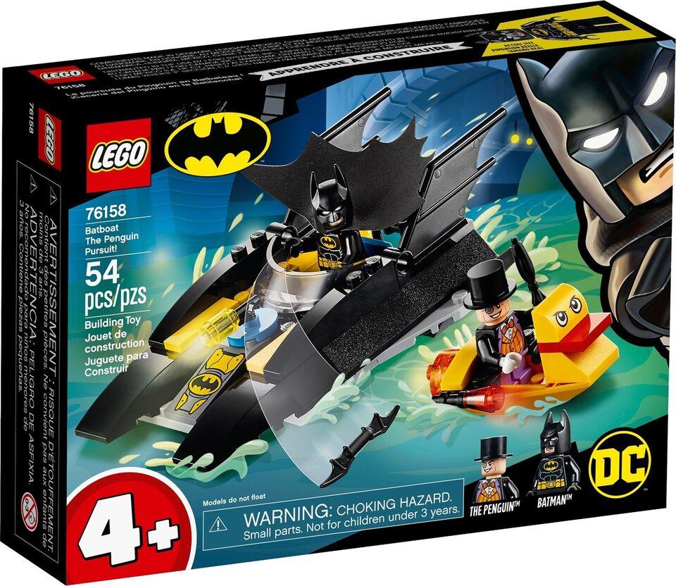 Lego Super heroes, 76158 Batboat The Penguin Pursuit!