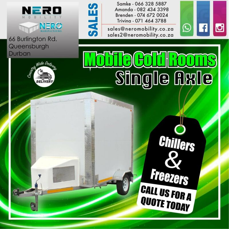 Mobile Cold room-Freezer for SALE