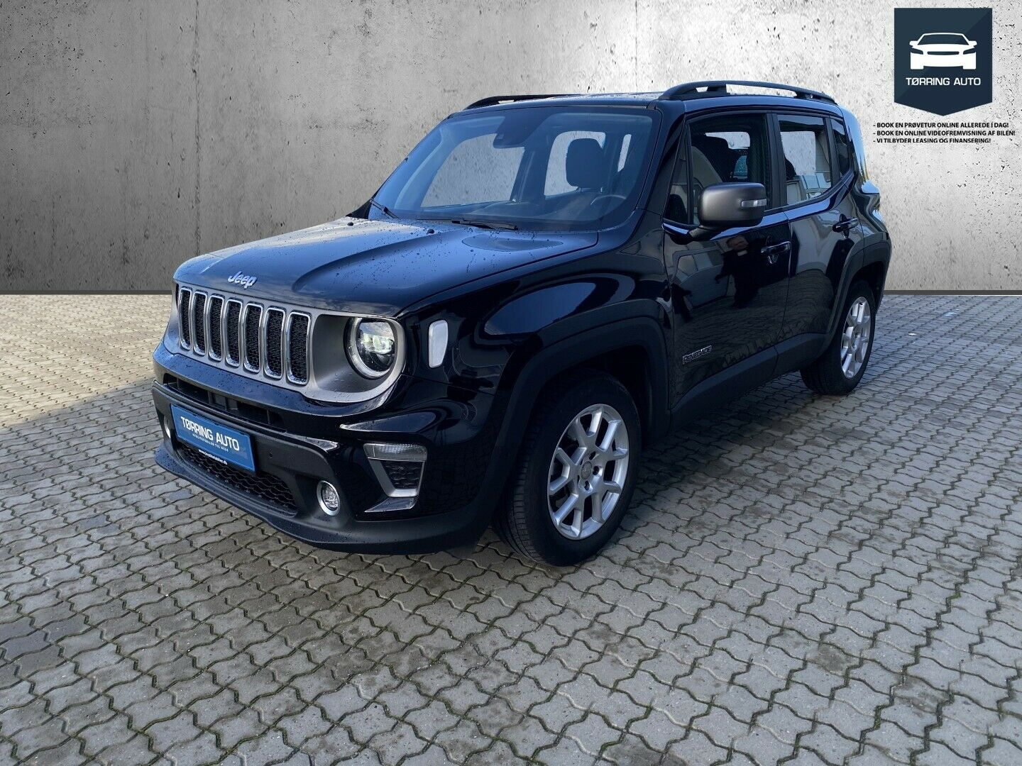 Jeep Renegade 1,3 T 150 Limited DCT 5d - 237.500 kr.