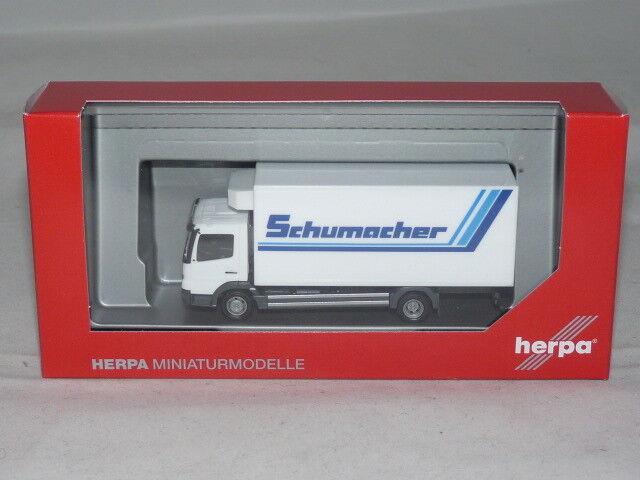Herpa 308540 MB Atego Kühlkoffer-LKW - Spedition Schumacher 1 87 NEU + OVP