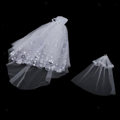 1//6 Dolls Wedding Dress Handmade for Blythe for Momoko Doll Accessories