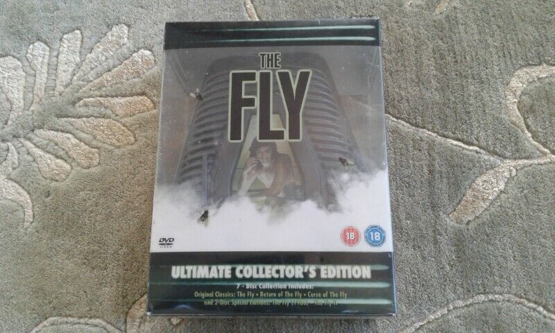 The Fly Ultimate Collectors edition DVD for sale