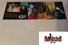 Saga 19 20 21 22 23 24 Complete Vaughan Staples Comic Lot Run Set 1st Print