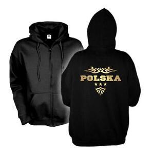 48e Shirt S con Polska 6xl Felpa wms06 cappuccio con Polonia Country Fan Jacket cappuccio Giacca Sweat Xw7Zw