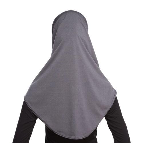 Pañuelo Amira Hijab de oración islámico para Mujer Hot musulmán Pañuelo Bufandas De dos piezas Headwear