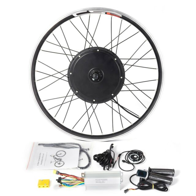 E bike Conversion Kit 36V 250W 48V 500W 1000W 1500W Electric Bicycle Hub Motor