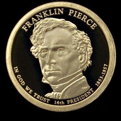 2010-S Franklin Pierce DCAM Proof Presidential Dollar Bargain Priced FREE S/&H