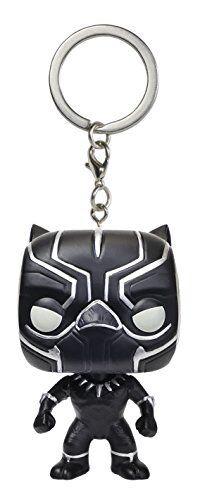 black panther Funko POP KEYCHAIN guerre civile FIGURINE Captain America 3