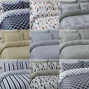 Luxury-100-pure-cotton-reversible-printed-duvet-quilt-cover-bedding-set