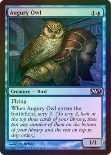 Augury Owl Foil new MTG M11 Magic 2B3