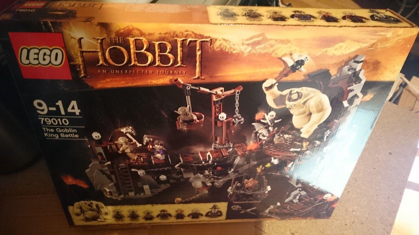 LEGO The Hobbit 79010  The Goblin King Battle Brand New Sealed