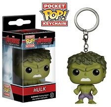 Hulk Avengers 2 Marvel Comics Funko Pocket POP! Keychain Key Ring FREE SHIPPING!