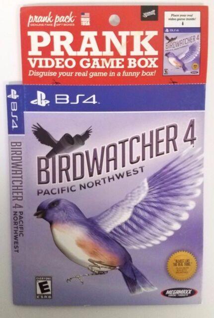 Prank Pack Thumbwrestler PP201005 BS4 Fake Sleeve 30 Watt for PS4 Video Game
