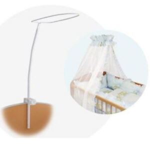 Brand Drape Canopy Mosquito Net Holder Pole Baby Nursery Cot Bed Crib Cradle