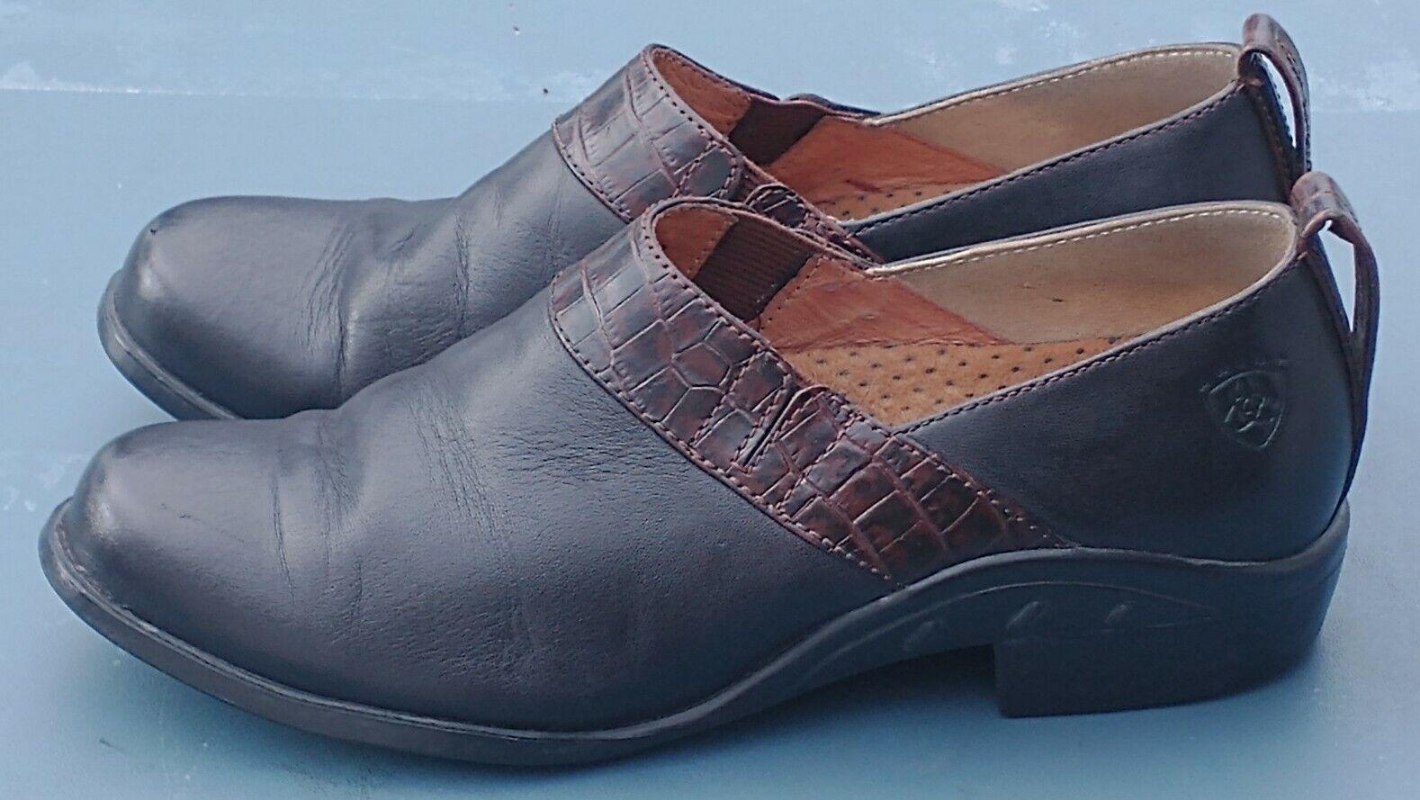 Women's Shoes, Ariat ATS Equipped , Black ,Clogs, 7 B, UK 4.5 M, E.U.R. 37.5 M