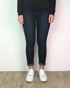 Women-039-s-Slim-Jeans-Bleu-EX-Designer-Bleu-Indigo-Denim-Femmes-Tailles-6-18