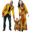 thumbnail 6 - New Fashion Matching Clothes Brand Father Mother and Son Baby Africa V11592