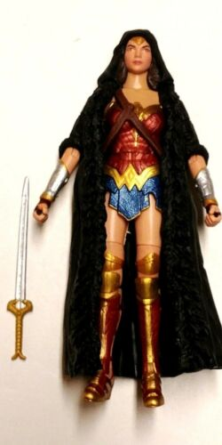DC Multiverse WONDER WOMAN IN COAT Loose Complete No Ares CnC Diana Mattel