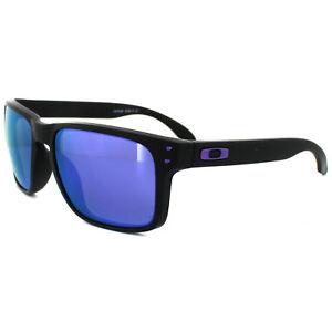 682774853b Image is loading Oakley-Sunglasses-Holbrook-Matt-Black-Julian-Wilson-Violet-