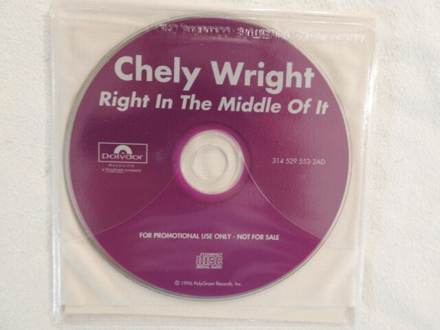 Right in the Middle of It by Chely Wright (CD, Jan-1996, PolyGram)