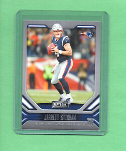2019-Panini-Playbook-JARRETT-STIDHAM-Rookie-Card-New-England-Patriots-107-RC