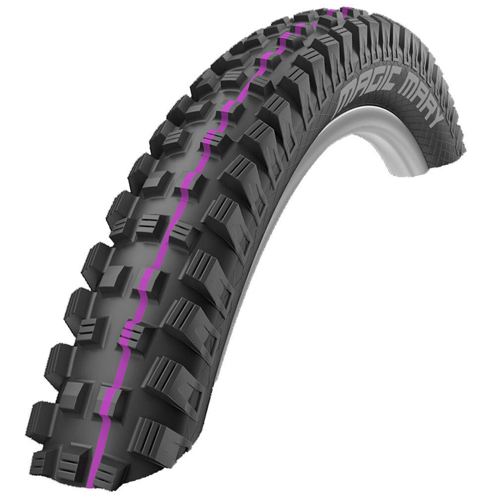 SCHWALBE ADDIX MAGIC MARY 27,5 x 2.6 U-SOFT EVOLUTION black purplet REIFEN