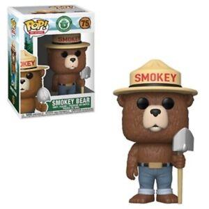 Smokey-Bear-with-Shovel-75-Funko-Pop-Vinyl-New-in-Mint-Box-Protector
