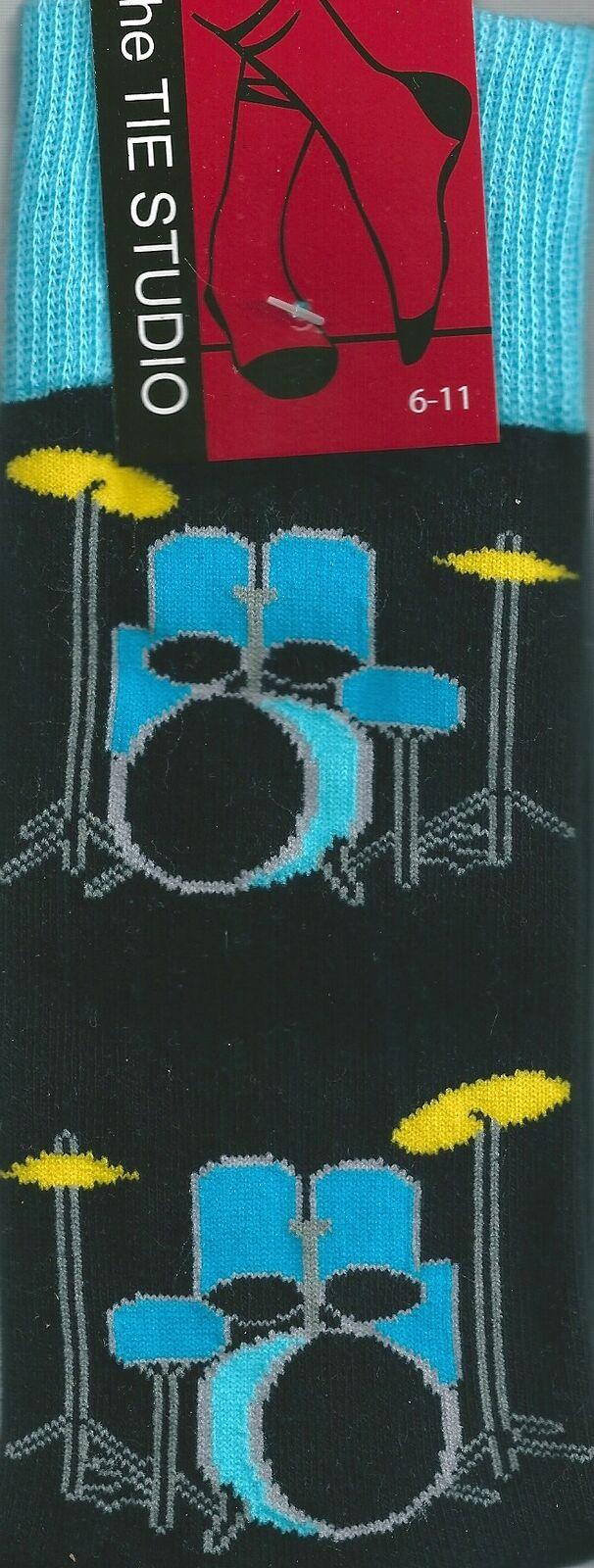 Unisexe Kit Nouveauté Musique Groupe Bleu Rock Tambour nwqx0CnF6