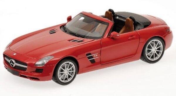 Mercedes-Benz Sls-Class Sls-Class Sls-Class AMG Roadster (red) 2011 f193ee