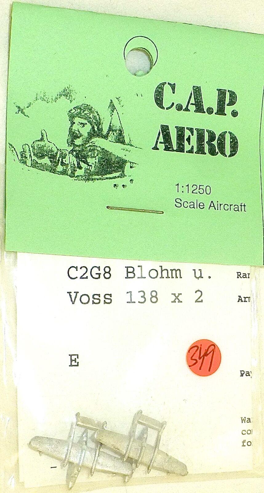 2X Avión C2G8 C2G8 C2G8 Blohm y Voss 138 Aero para Maqueta de Barco 1 1200 SHP349 Å   1b1454