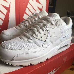 Nike-Air-Max-90s-Triple-White-size-10uk