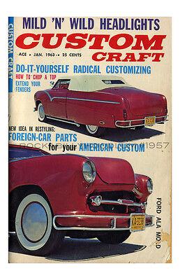 Accessoires & Fanartikel ZuverläSsig Neu Hot Rod Plakat 11x17 Custom Handwerk Zeitschrift Für 1963 Ford Kustom Preisnachlass